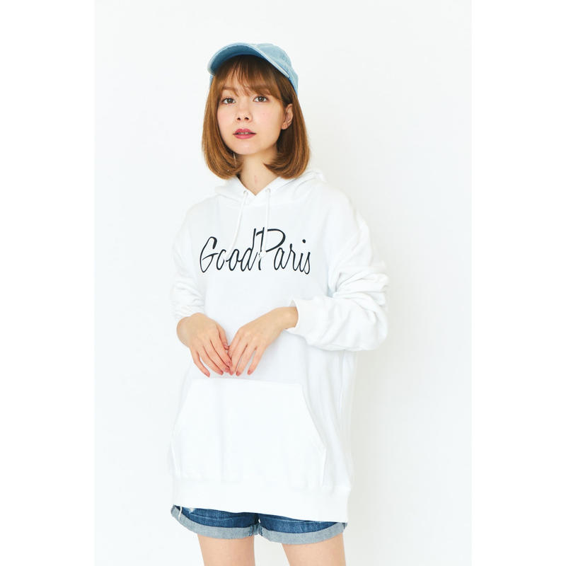 GOOD PARIS PARKA/WHITE GDP-004
