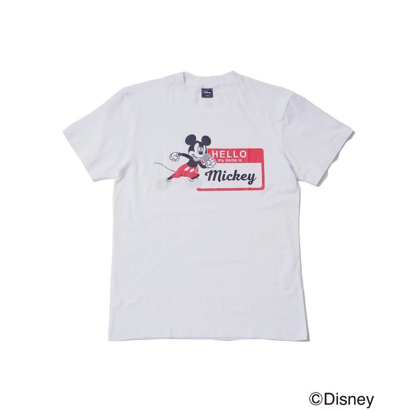 DISNEY HELLO MICKEY T /GDS-RD002 WHITE
