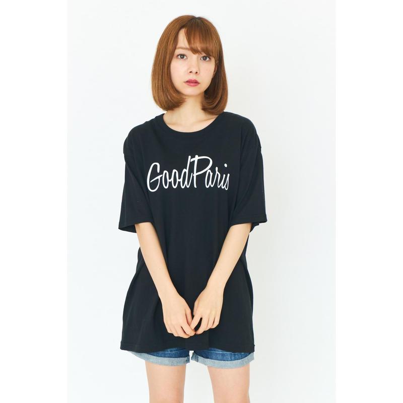 GOOD PARIS T-SHIRT/BLACK GDT-013