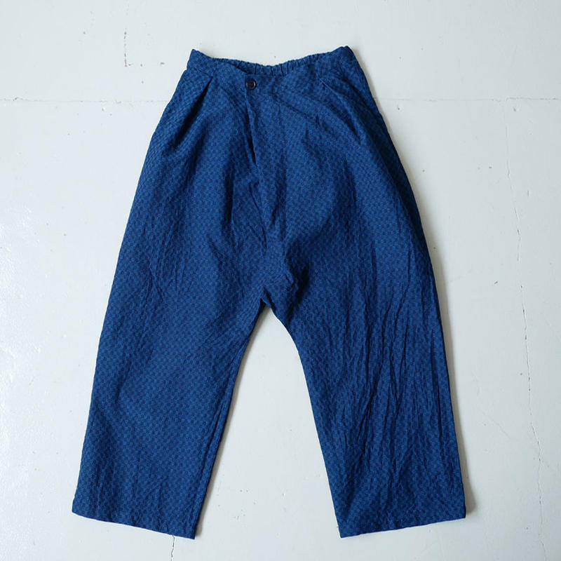 BLUE BLUE JAPAN |ブルーブルージャパン|インディゴ トリアシドビー フルワイドパンツ|INDIGO|700073613
