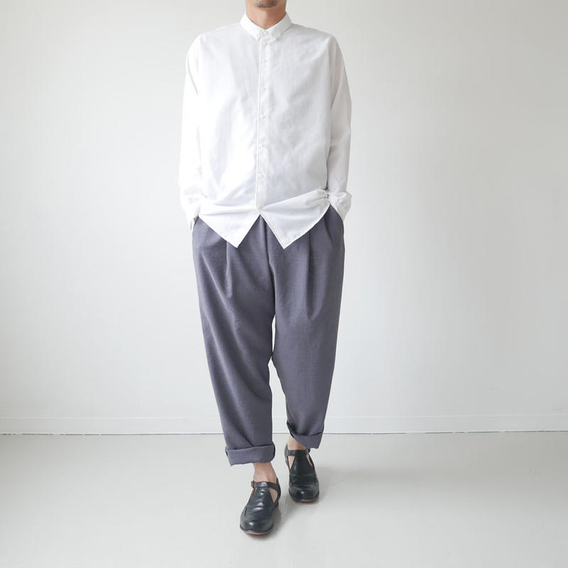 NO CONTROL AIR ノーコントロールエアー  LIGHT BROAD CLOTH SHIRTS  ホワイト NO. S8-NC105SF / NCCSH
