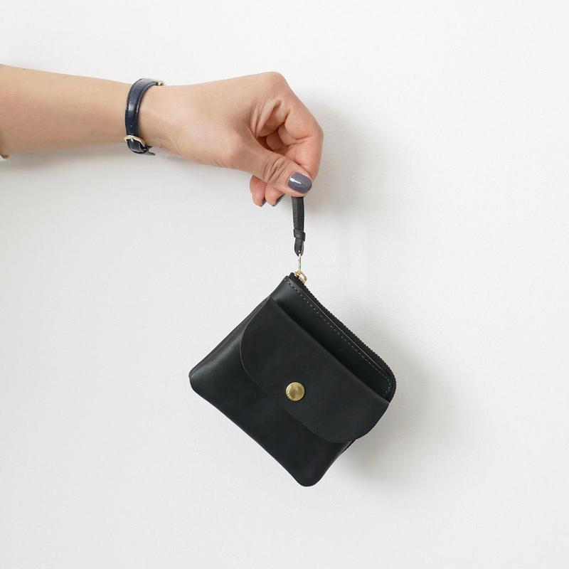 CINQ 小さめの財布 BLACK
