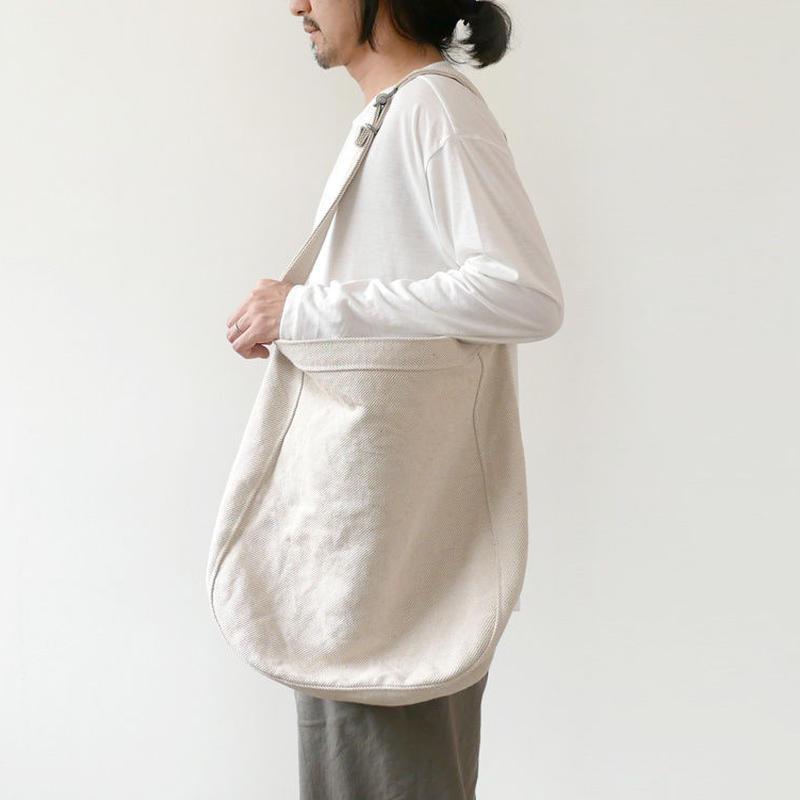 STYLECRAFT STUFF スタイルクラフト スタッフ ROOTSLINE basic shoulder No.2 Cotton × Jute Twill