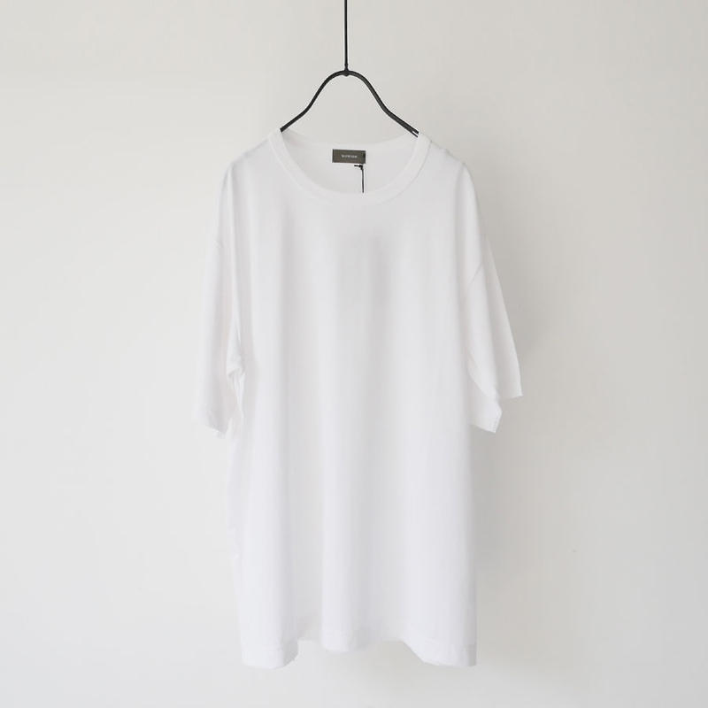 WIRROW|ウィロウ|crewneck T-shirt|size2|WHITE