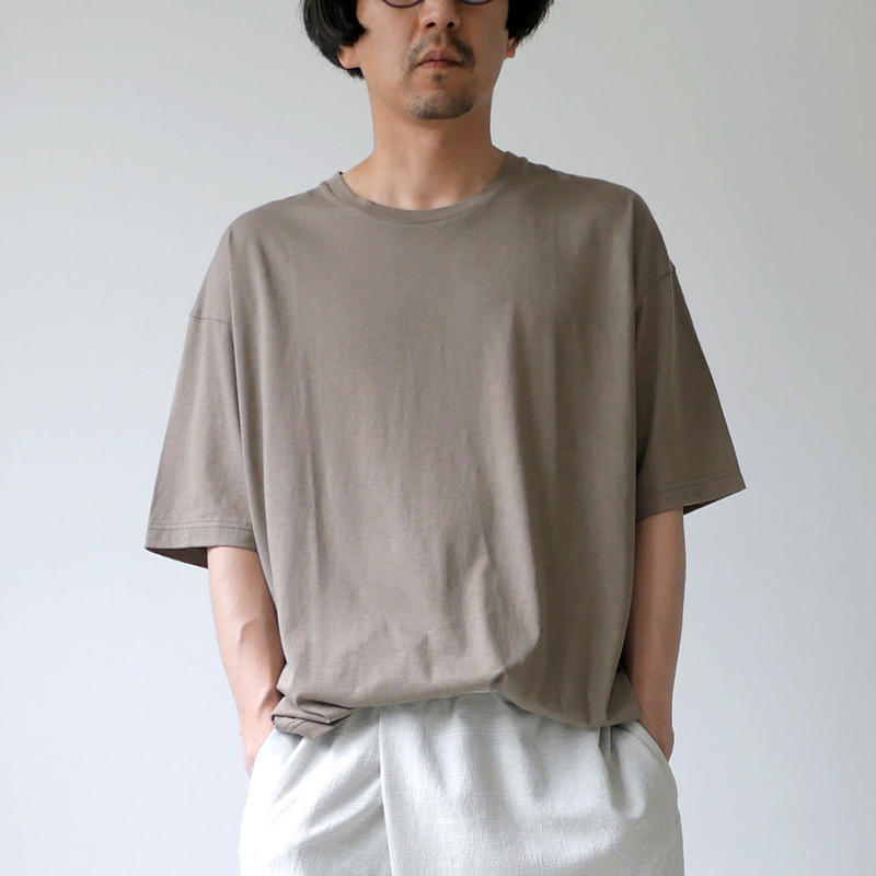 WIRROW ウィロウ ショートスリーブカットソー short sleeve cut&sewn