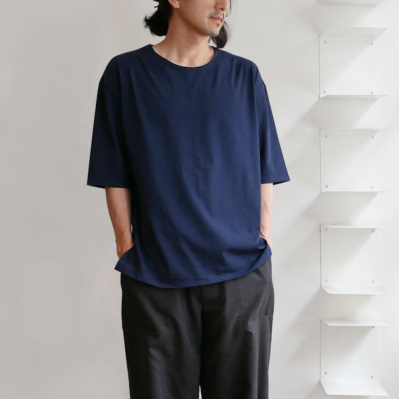 GOUACHE FUKUOKA | ガッシュ福岡 | 超長綿五分袖クルーネックカットソー
