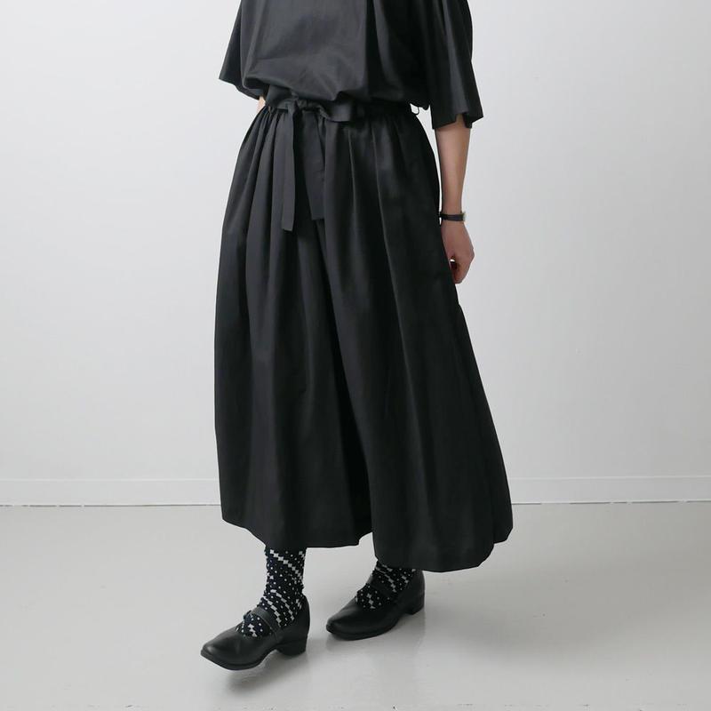Si-Si-Si comfort スースースーコンフォート スカート BLACK 18-SS036