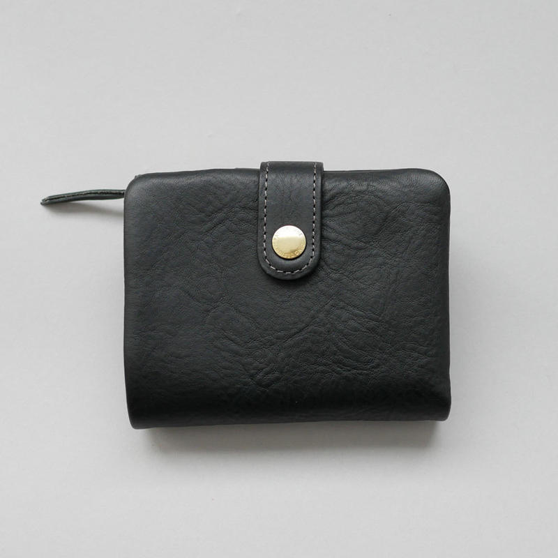 CINQ 二つ折り財布 BLACK