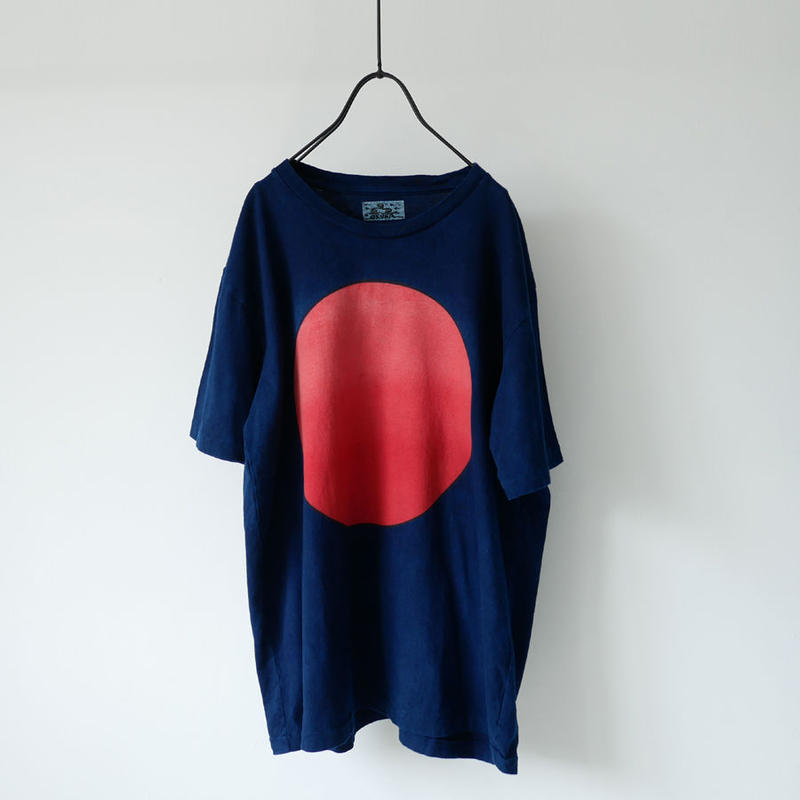 BLUE BLUE JAPAN | OKURA|ブルーブルージャパン|オクラ|タイヨウグラデーション インディゴTシャツ|INDIGO|700073554
