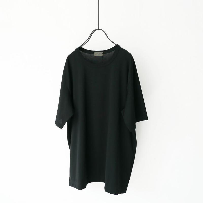 WIRROW|ウィロウ|crewneck T-shirt|size2 SIZE 3|BLACK