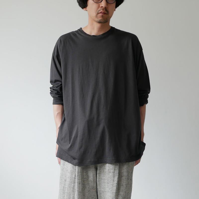 WIRROW ウィロウ ロングスリーブカットソー Long sleeve cut&sewn