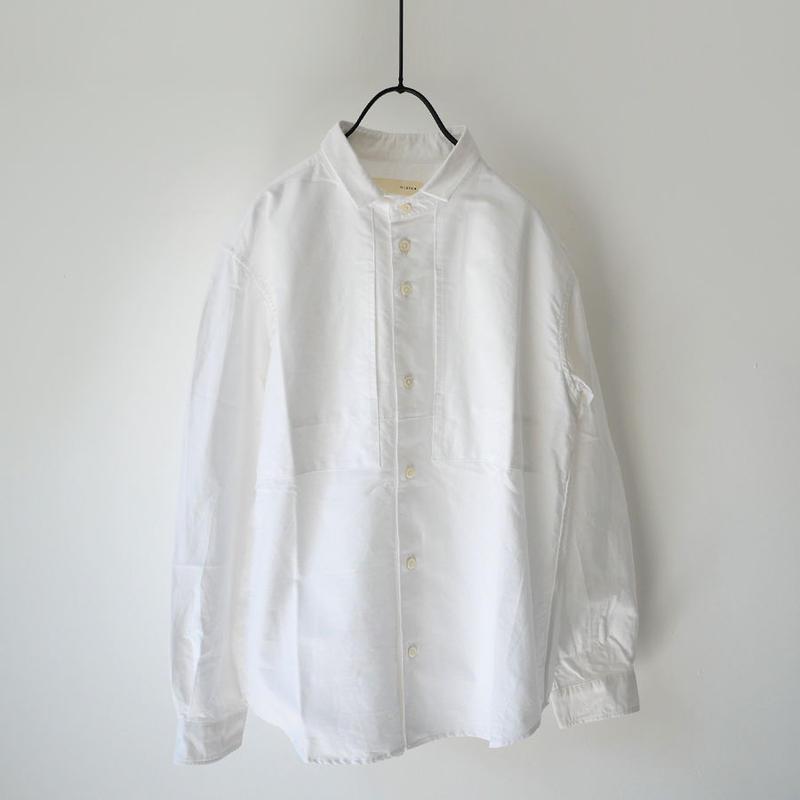 nisica  ニシカ   スモールカラーシャツ  ホワイト  NIS-860