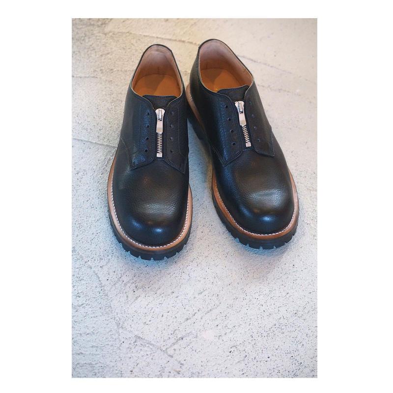 Black Weirdos「ZIP Plain - Toe Shoes」
