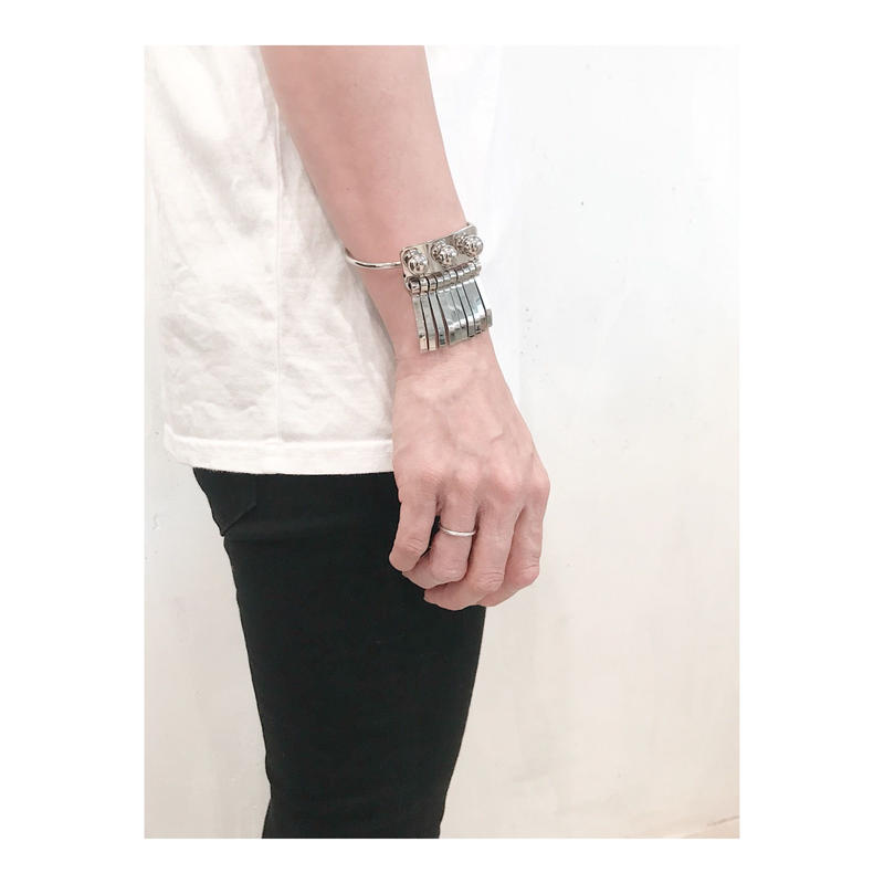 THE Dallas 「metal fringe bracelet」