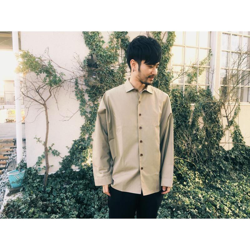 ETHOS 「MANTO SHIRTS」 beige