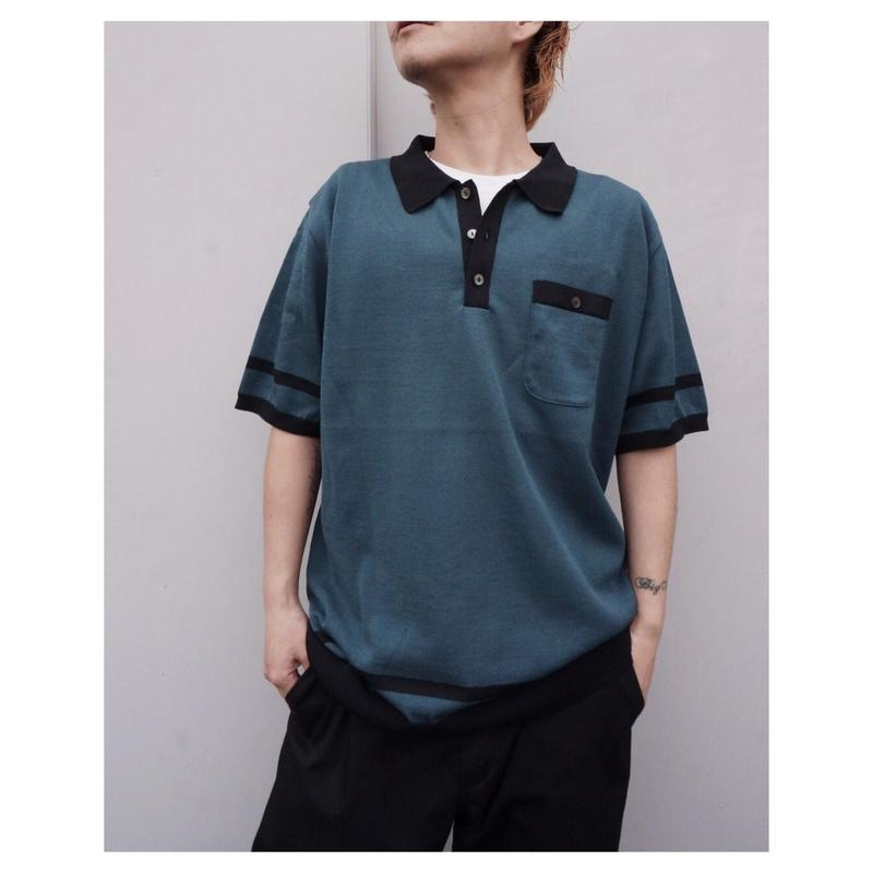 SON OF THE CHEESE「Boder KNIT Polo」