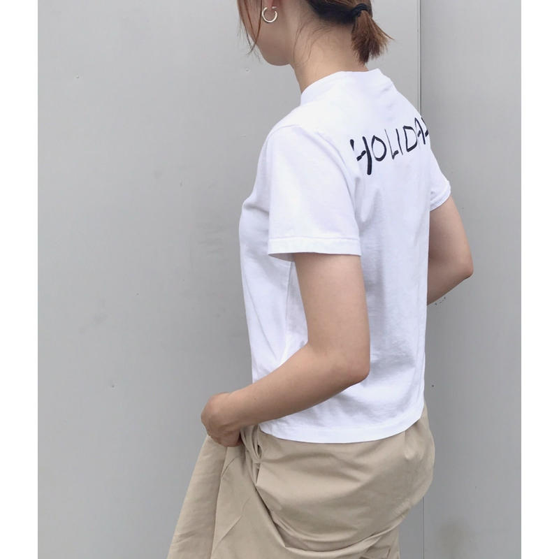 HOLIDAY「SUPER FINE PACK T-SHIRTS(BACK HOLIDAY)」