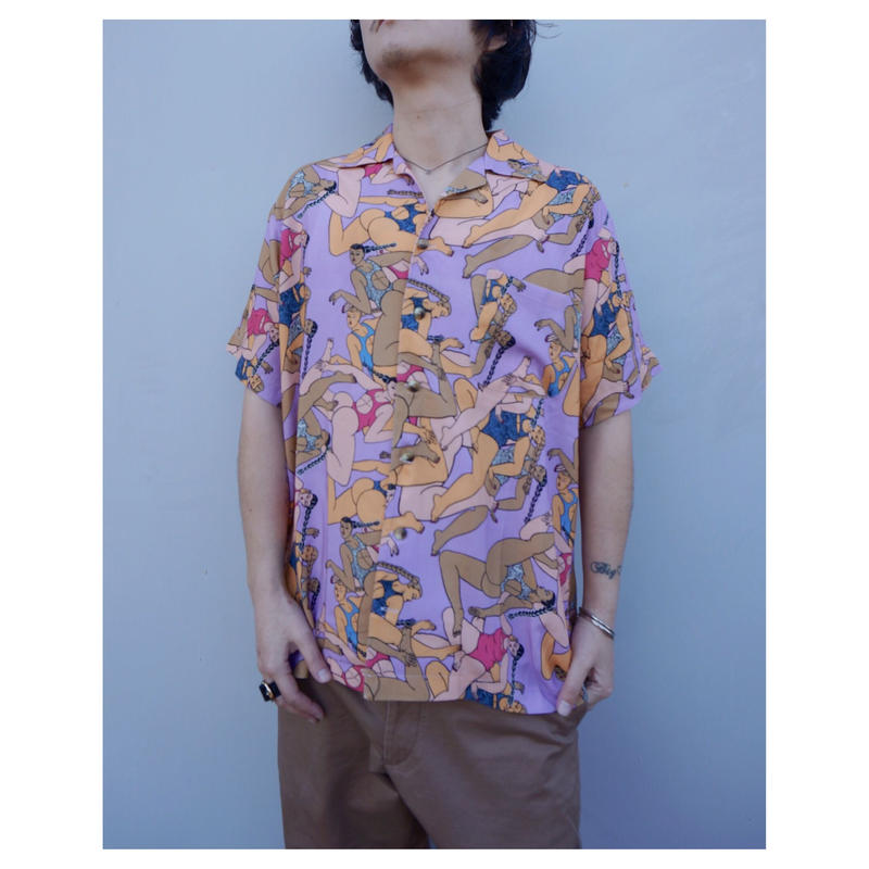 BRAIN DEAD「Hawaian Shirt」