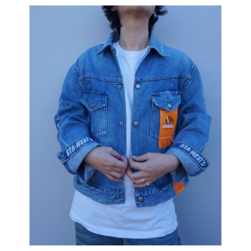 STA-WEST'S「STA-TRACKER Jacket DENIM」