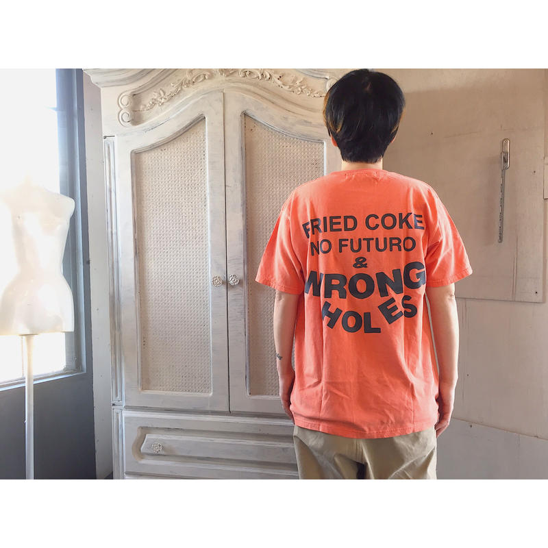 Black  Weirdos 「WRONG HOLES TEE」