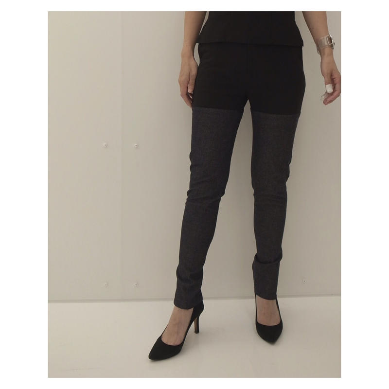 THE Dallas「long zipper pants」