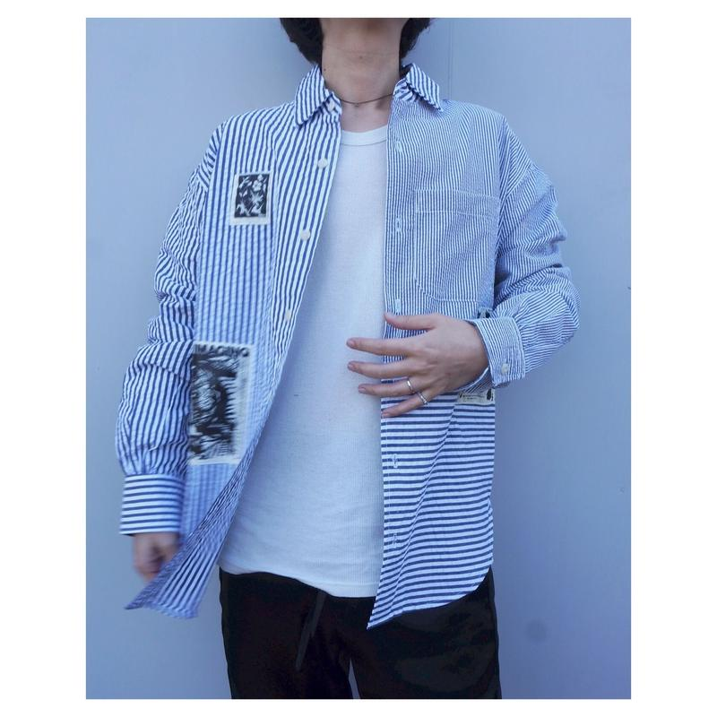 BRAIN DEAD「Paneled Neck Pull over」