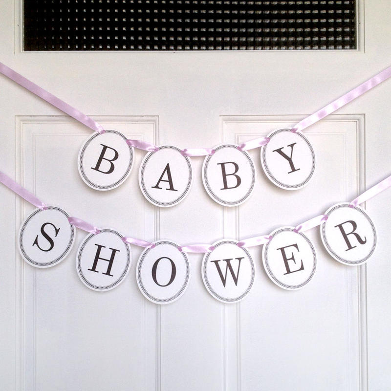 BABY SHOWER * Garland