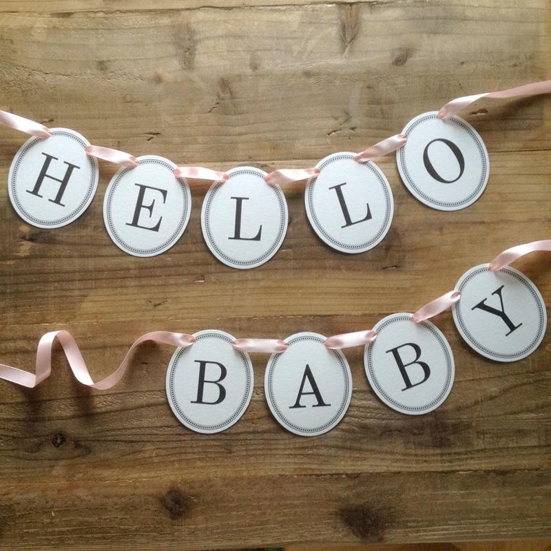 HELLO BABY * Garland