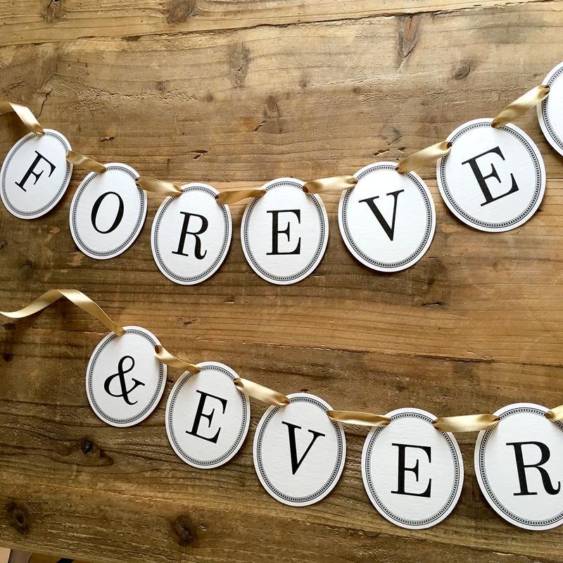 FOREVER & EVER * Garland
