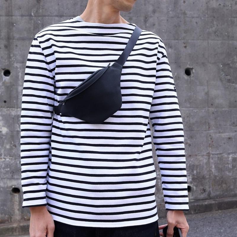 ERA. イーラ  / BUBBLE CARF WAIST BAG ウェストバッグ 【ブラック】
