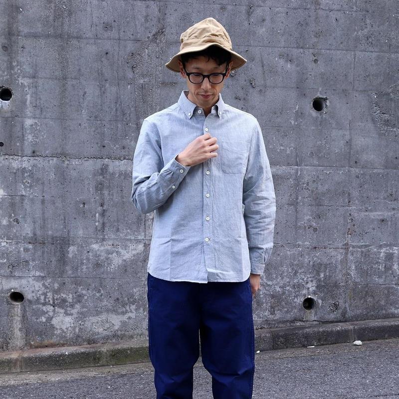 maillot (ユニセックス)  / SUNSET B.D SHIRTS サンセットボタンダウンシャツ