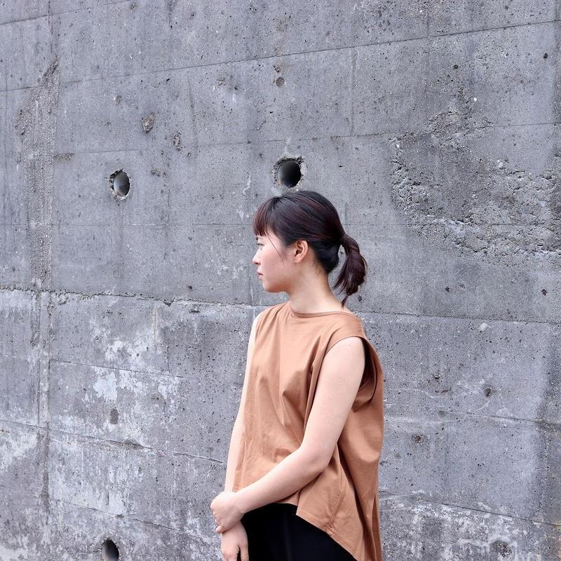 WHYTO. (レディース)  /  コットンノースリーブシャツ