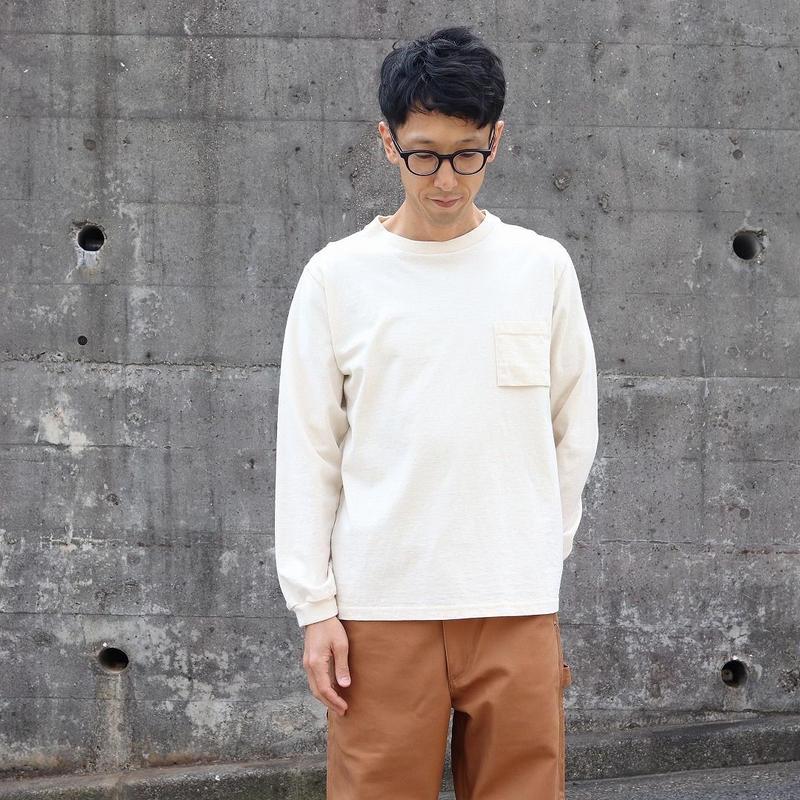JACKMAN ジャックマン(ユニセックス) / POCKET L/S T  ポケット長袖Tシャツ