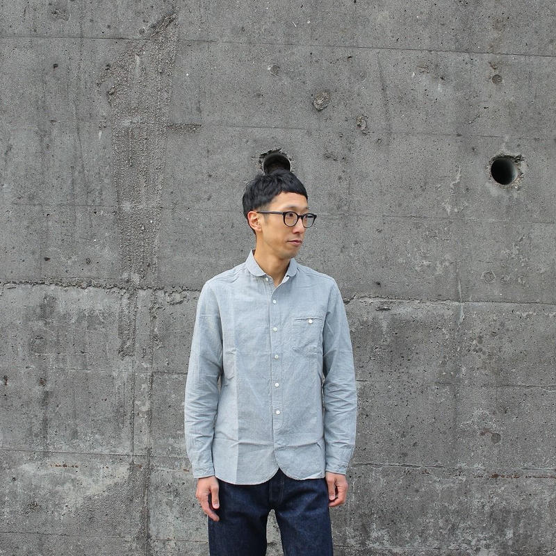 maillot (ユニセックス)  / SUNSET WORK SHIRTS サンセットワークシャツ 【無地】