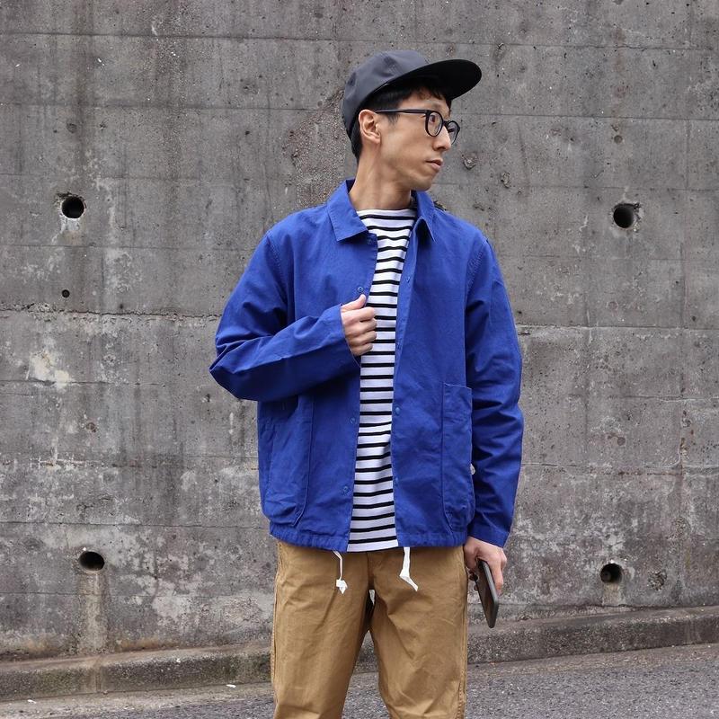 maillot (ユニセックス)  / C.L キャンバス スナップ デッキジャケット
