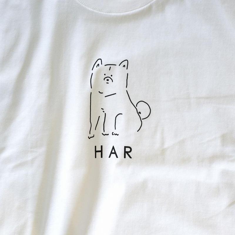 HARちゃん TEE(ユニセックス) / はーちゃん半袖Tシャツ