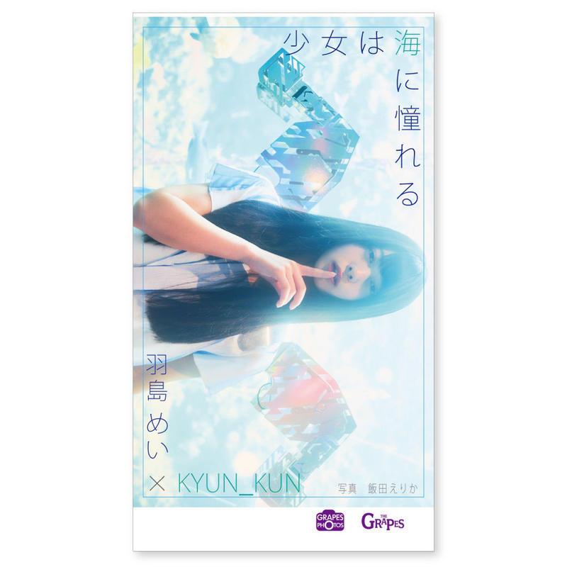 少女は海に憧れる  羽島めい×KYUN_KUN×飯田えりか(トーフ版ミニ写真集)