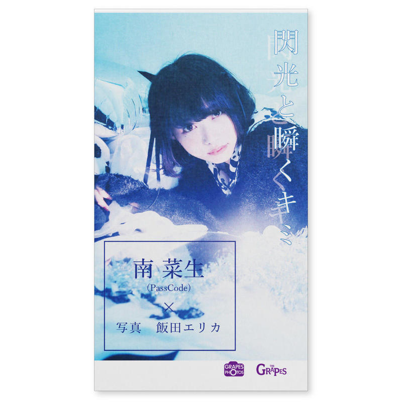 閃光と瞬くキミ 南菜生(PassCode)×飯田エリカ(トーフ版ミニ写真集)