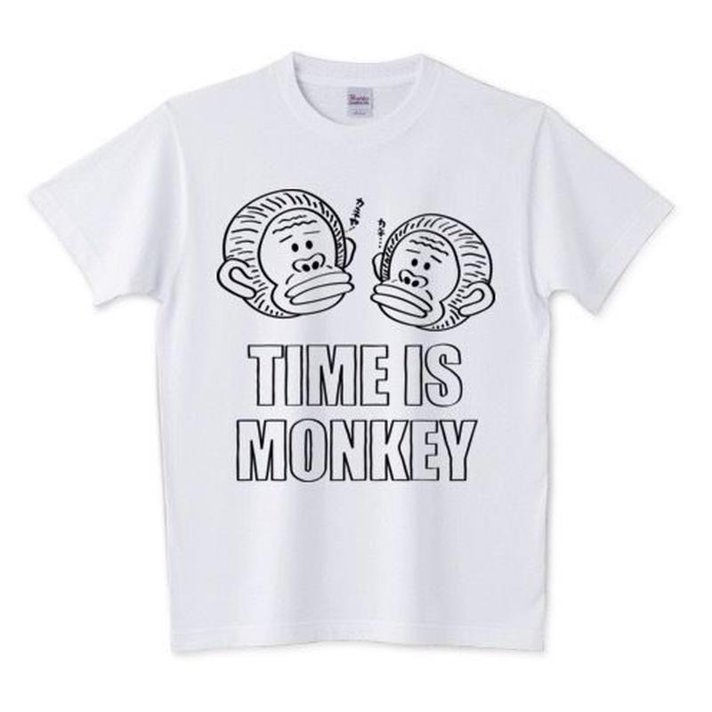 TIME IS MONKEY Tシャツ