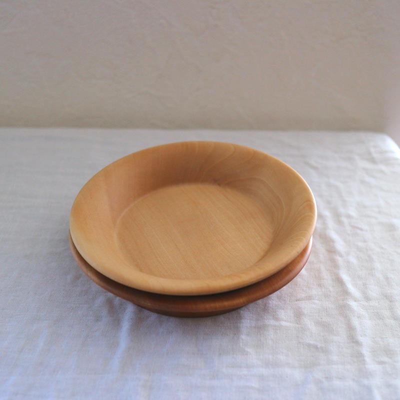 栃の木の小皿 / クラフトアリオカ
