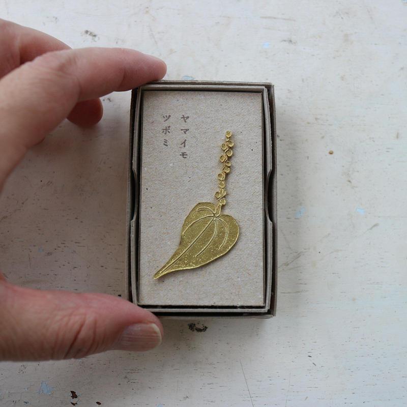 ヤマイモツボミ(真鍮) / きたのまりこ