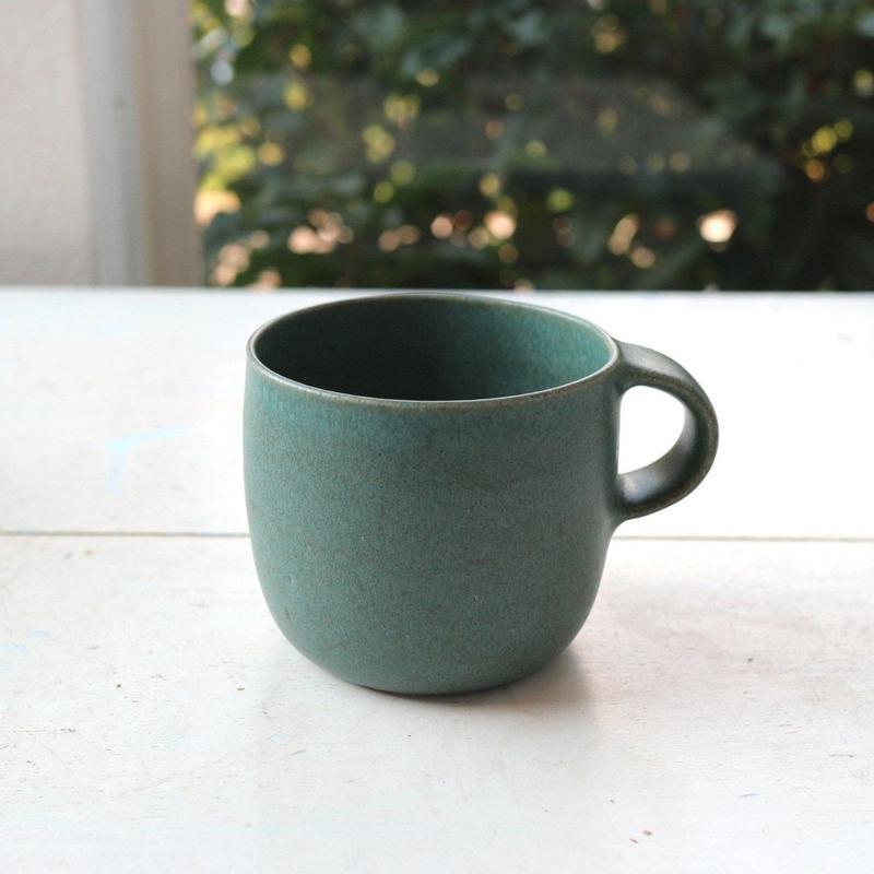 マグカップグリーン / 寺嶋綾子