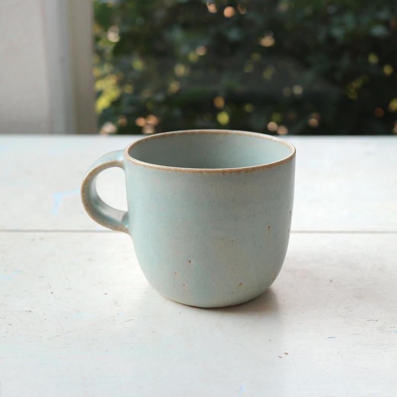 マグカップ水色 /  寺嶋綾子