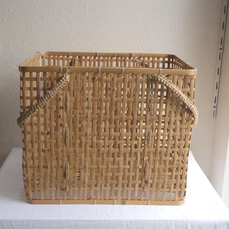 竹の洗濯かご /     タケカンムリ  (予約)