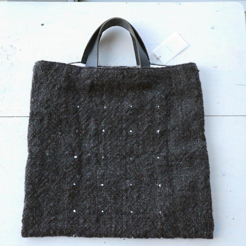 手紡ぎ手織りバッグ・ゴットランド / クウプノオト