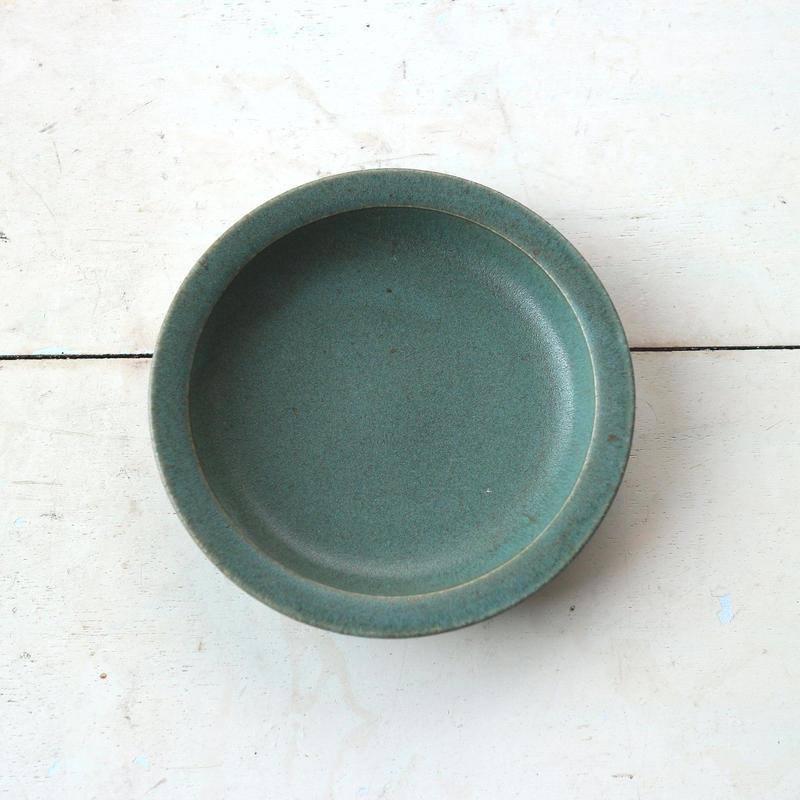 小皿グリーン /  寺嶋綾子
