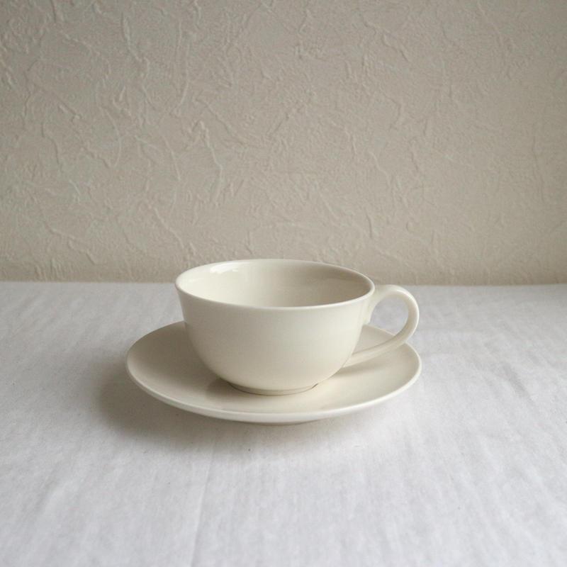 ティーカップ&ソーサー / 濱岡健太郎
