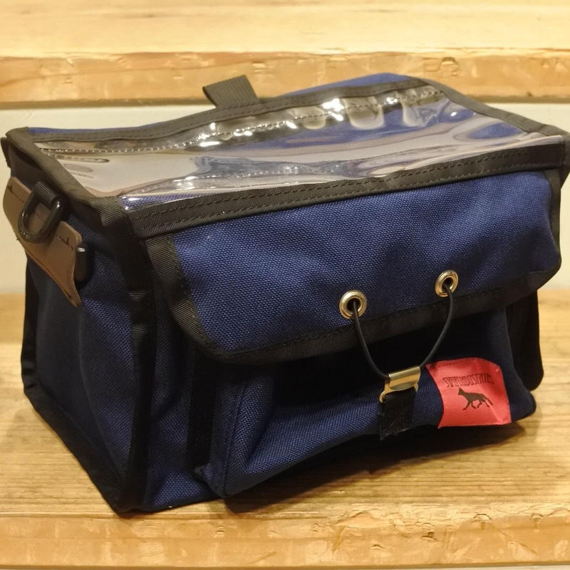 "SWIFT INDUSTRIES ""PALOMA"" handlebar bag(navy)"