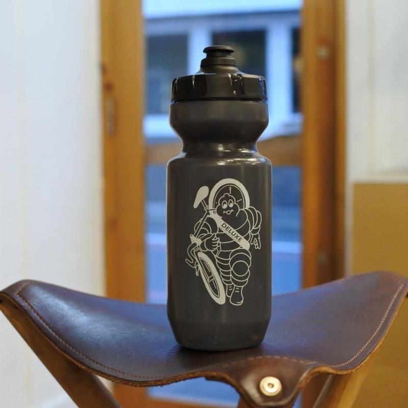 """""""DELUXE CYCLES"""" Bibendum water bottle"""
