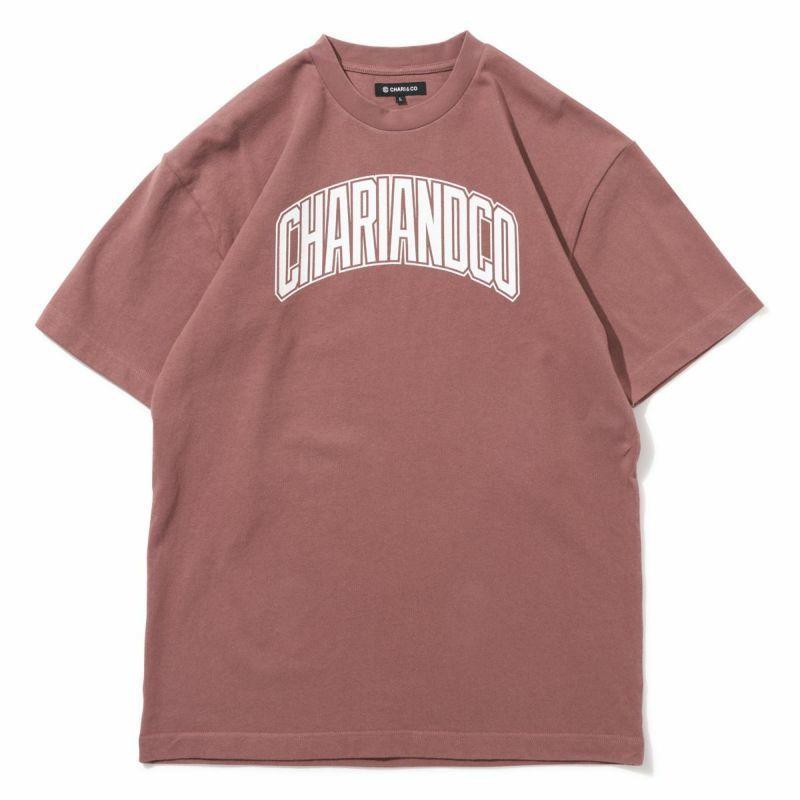 "CHARI&CO ""BRIDGE LOGO TEE"" ローズ"